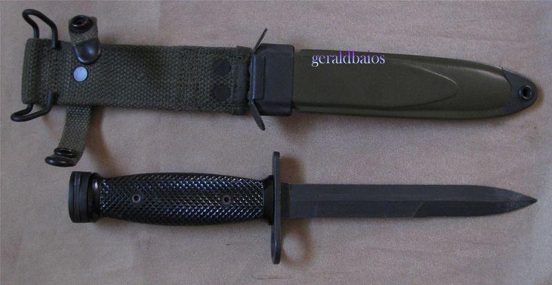 couteau baïonnette us m4 seconde production
