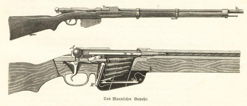 1886 Mannlicher_Gewehr